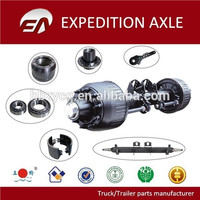 Germany type trailer axles and parts for BPW - trailer axle, brake drum, wheel hub