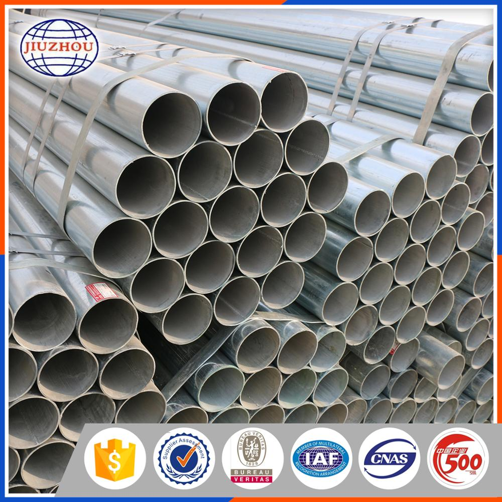 Top Quality S30c Welded Galvanized Steel tube Price