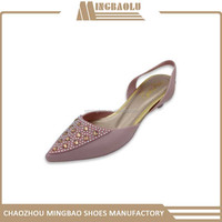 PVC High Heel Shoes 81016 2