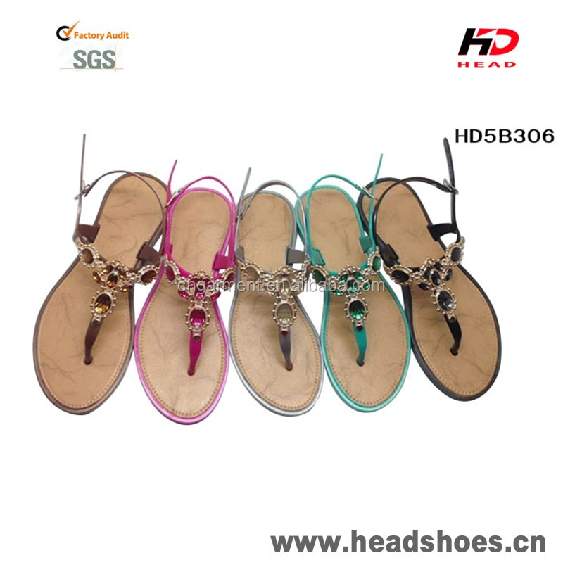 China Wholesale women flat sandals for ladies pictures