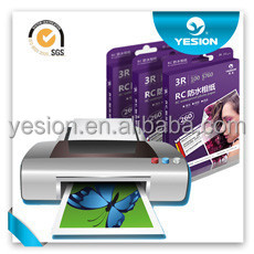 Yesion China Manufacte 260gsm Premium Waterproof RC Woven/Silk Photo Paper
