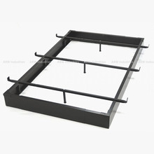 Adjustable metal foundation metal bed foundation with 9 legs