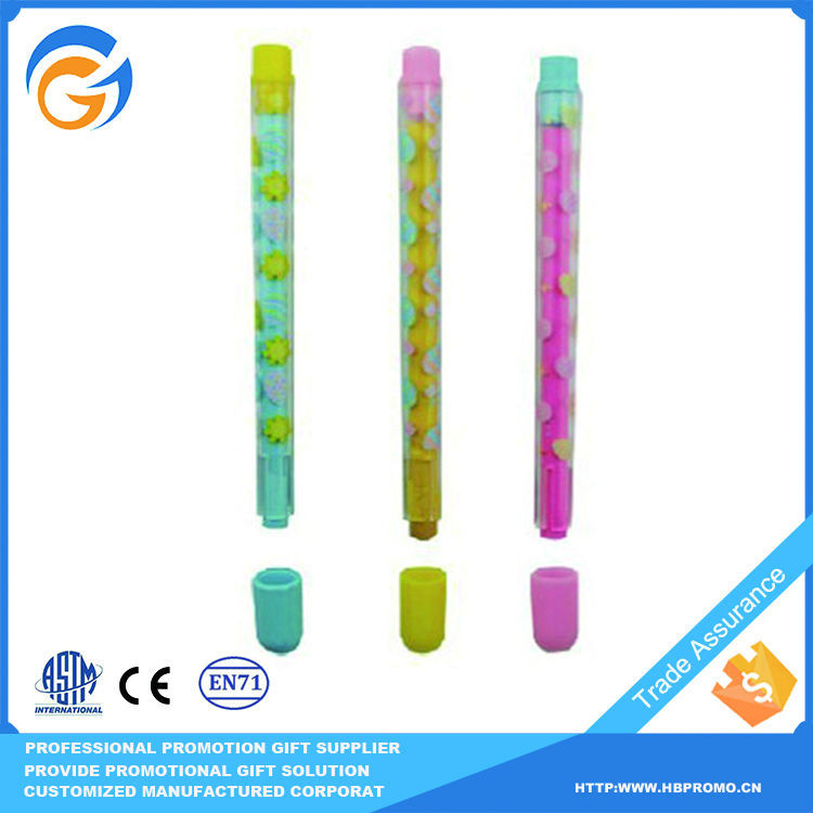 Gel Pen with Eraser for Schools