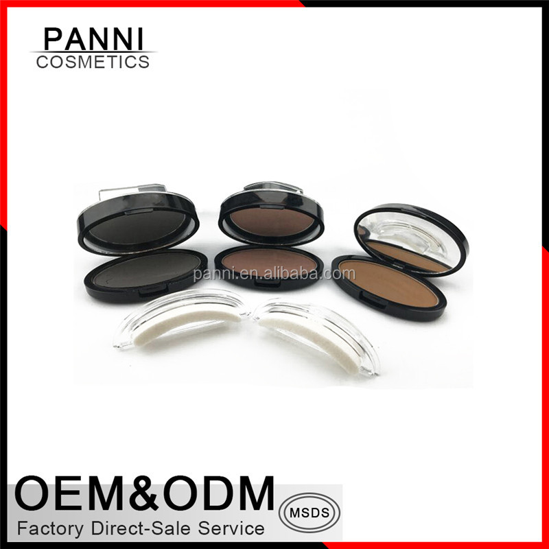 3 Second Waterproof Brow Eyebrow Stamp Powder for Makeup Perfect Natural 3 Second Brow Eyebrow Stamp