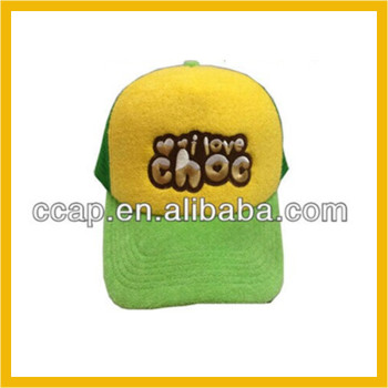 customized kids embroidery mesh trucker cap