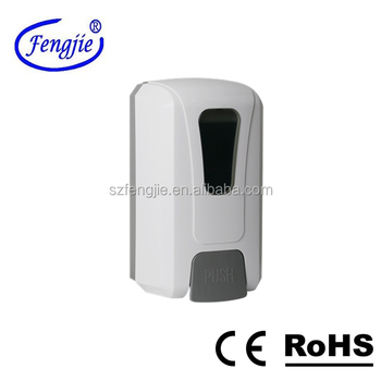 F1408-A foam hand push foam soap dispenser with 1000ml disposable bag