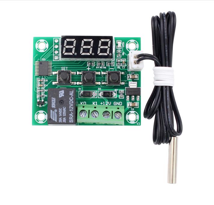 W1209 12V 50-110°C Digital LED Thermostat Temperature Control Switch Sensor