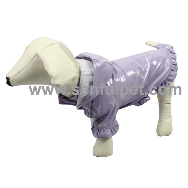 Lovely Waterproof winter pet clothes dog apparel