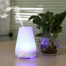 Hot sell Amazon wholesale 100ml LED light ultrasonic aroma diffuser