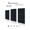 mono & poly material and 1650*990*40mm size cheap solar panels for sale