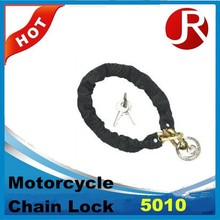 motorcycle chain lock with disc padlock