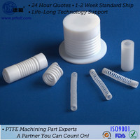 CNC turning mechanical drawing ptfe part