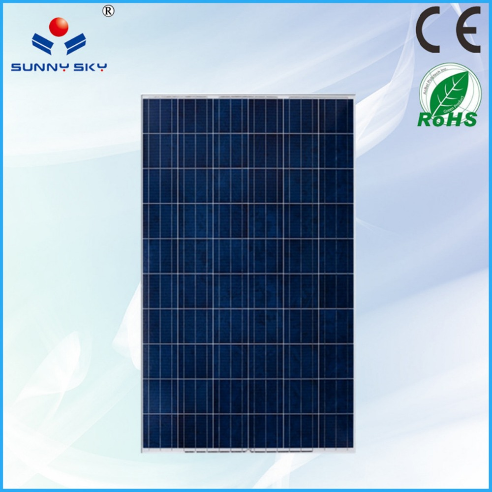 Cheap price poly 220w 36v pv cell solar panel manufacturers in China TYP220