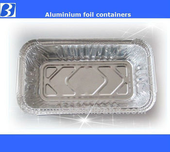 NO 6A rectangle aluminum foil pan