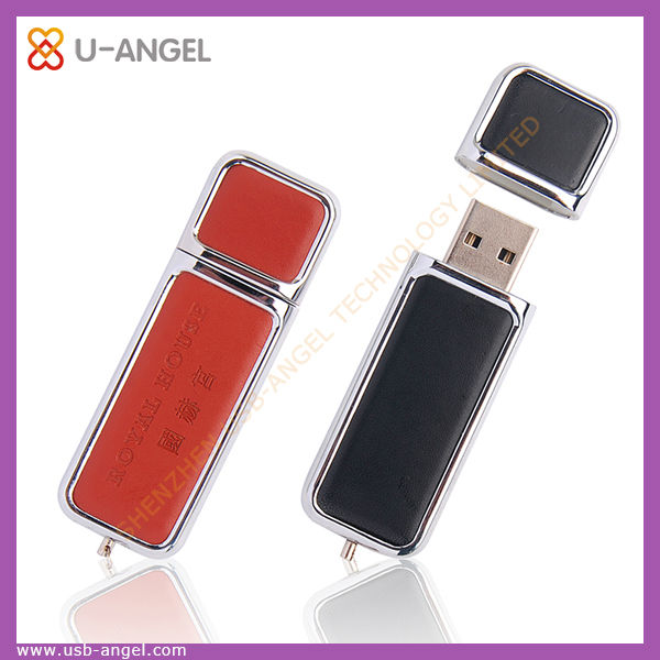New Arrival Latest Design Leather Usb Flash Drive USB2.0 disk