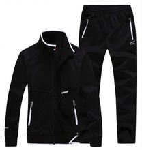 2017 new fleece jogging hoodies sport sweat suit wholesale for promotion the sport suits of the men