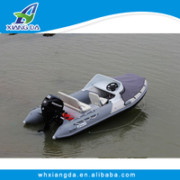 2016 CE Approved Aluminum Hull Dinghy Console Boat Cruise Ships for Sale