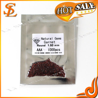 AAA loose natural crystal,cheap garnet color gems