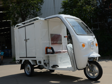 Anti-rust and stable Economic motorcycle three wheel Cargo bike electric vehicles with open cabin