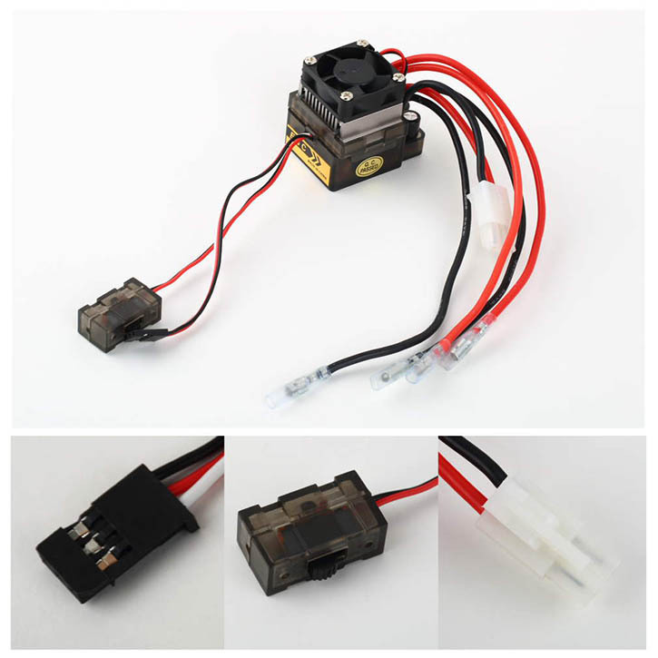 New 320A 7.2V-16V Brushed ESC Speed Controller for RC Car Truck Boat