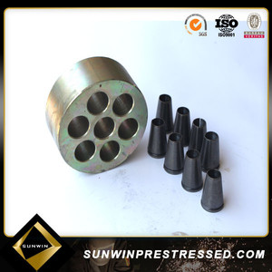 high quality prestressed round anchor grip barrels and wedge