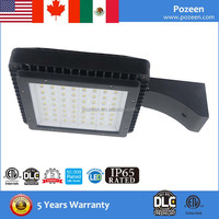 200 Watt Dimmable LED Street Light Install on 12m Galvanized Street Light Pole