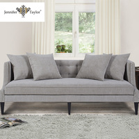 American style living room soft comfortable fabric sofa set