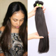Stocking 100% Real Human Hair Weaving Silk Straight 8-30inch Brazilian Mink Hair