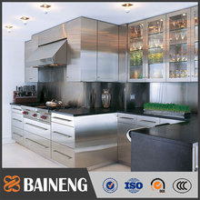 High quality new design stainless steel restaurant kitchen cabinets