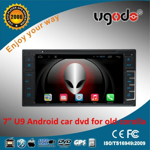 ugode China supplier 7inch full touch android car dvd player