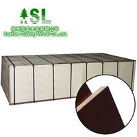 high quality 18mm*1250*2500 film faced plywood melamine coated plywood cheap plywood