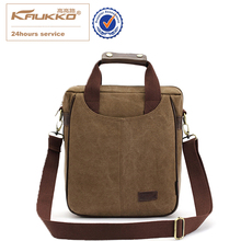 KAUKKO Leisure Briefcase Messenger Bag Tote Handbag Men's Shoulder Canvas Business Laptop Bag