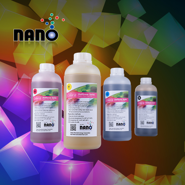 Transfer and direct printing sublimation ink for hp ink jet printer