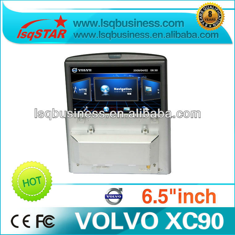 Car multimedia player for Volvo xc90 with car GPS Bluetooth Phone DVD Radio stereo