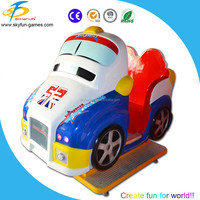 China MP4 interactive kiddie rides kids mini cars in coin operated games for sale