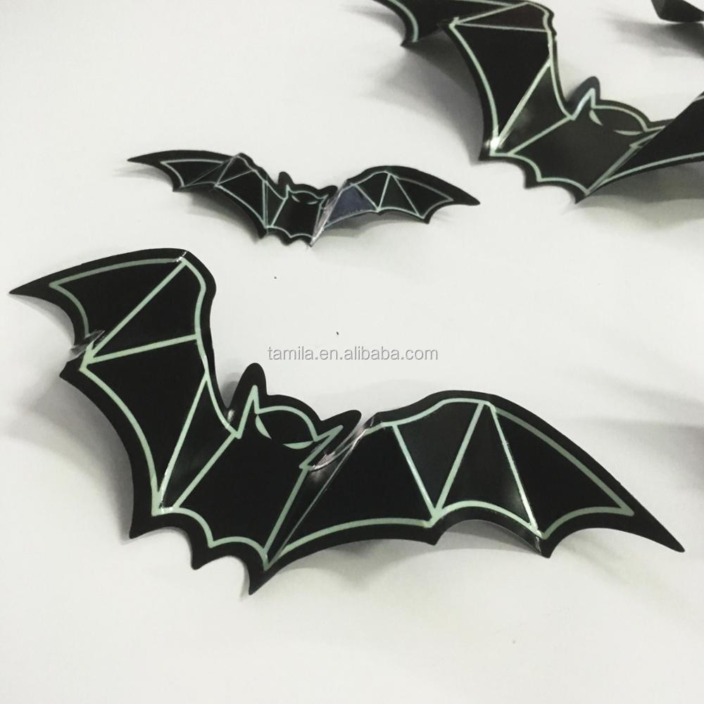 Bat Animals Luminous Wall Mural /Sticker Night Glowing Sticker for Home Decor