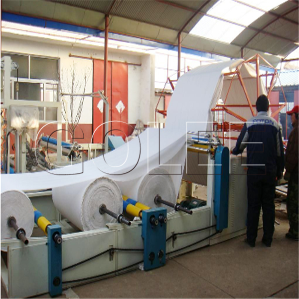 Toilet paper manufacturing equipment / toilet tissue paper making machine