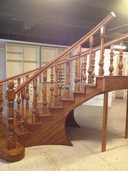 High Quality Luxury Solid Wood Stair,staircase, Staircase Design, Step Ladder