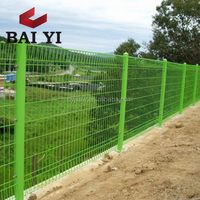 PVC Coated Roll Top Fence / Korea Welded Wire Mesh Fencing For Sale