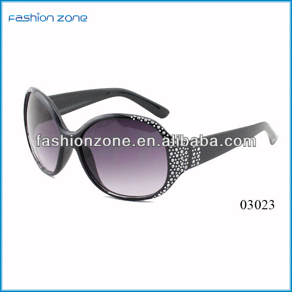 2014 wholesale women diamonds fake fashion glasses