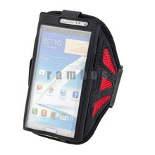 Running Sports Gym Armband Mesh Arm Band Belt Pouch Cover Case for iPhone 6/6 Plus 4 4s 5 5s for Samsung Galaxy S5 S4 S3 Note 3