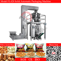 Small Scale Dried Strawberries/Kiwi Fruit/Banana Chips Packing Machine