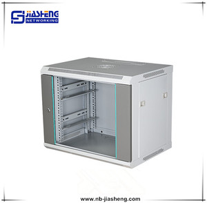 9U Network cabinet /enclosure/ box Outdoor wall mounted cabinet