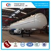 LPG Tank Truck Trailers For Liquid