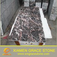 Polished Cuckoo Red Marble Slab Floor Tiles