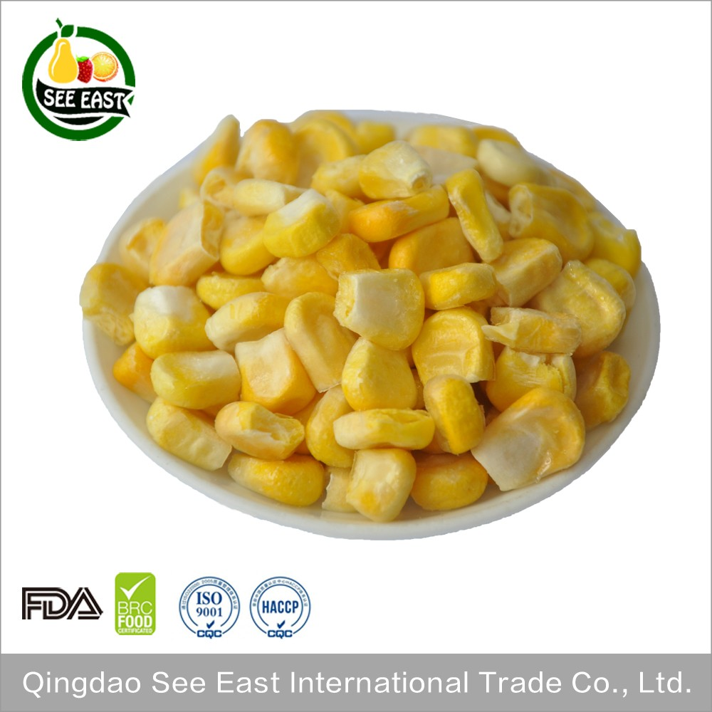 bulk items new product fd freeze dried sweet corn for sale