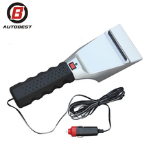 12V Electric Heating Plastic Ice Scraper