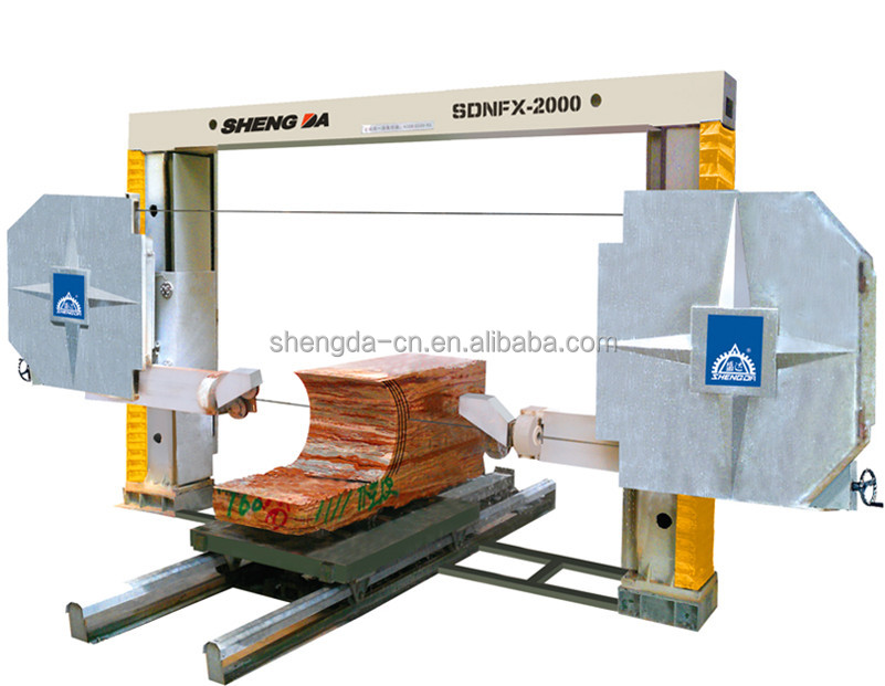 Cnc Diamond Wire Saw Cutting Machine - Buy Cnc Wire Saw Machine,Wire ...