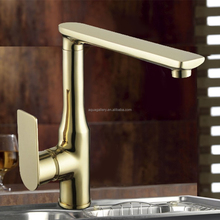 Golden Single Handle 2 Way Kitchen Faucet