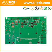 4 layers immersion gold FR-4 PCB assembly processing